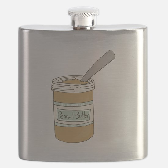 Peanut Butter Jar Flask