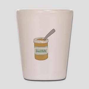 Peanut Butter Jar Shot Glass