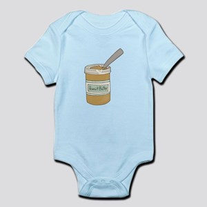 Peanut Butter Jar Body Suit