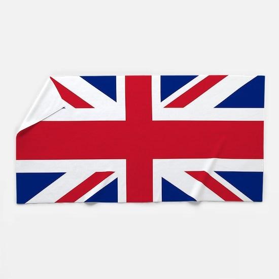 UK Flag Beach Towel