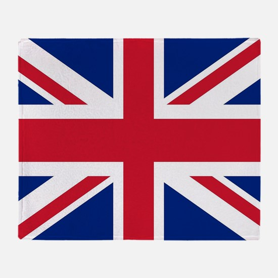 UK Flag Throw Blanket