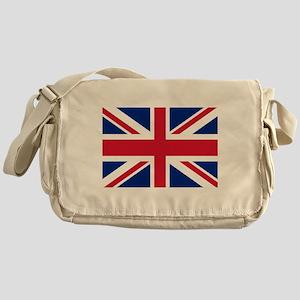 UK Flag Messenger Bag