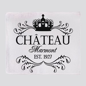 FRENCH CHATEAU Throw Blanket
