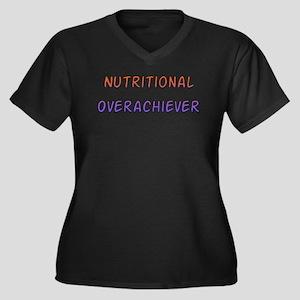 Nutritional Overachiever Women's Plus Size V-Neck