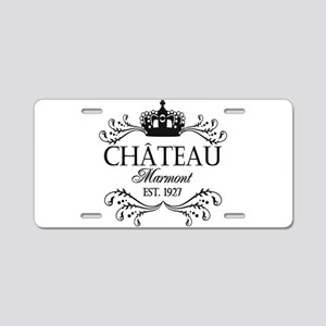 FRENCH CHATEAU Aluminum License Plate