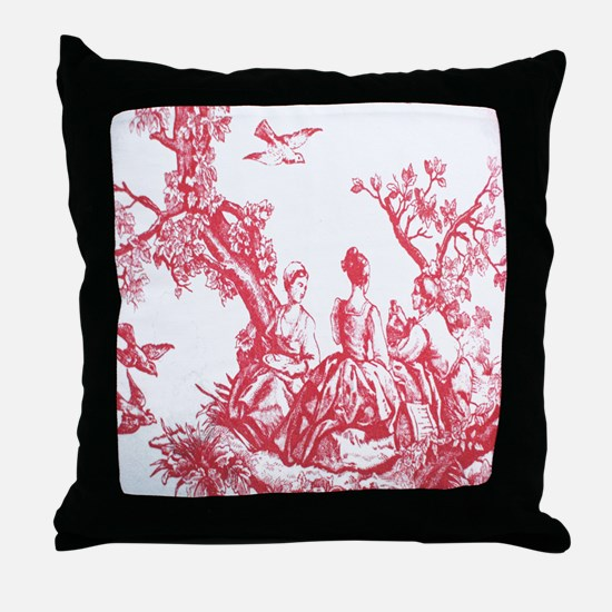 FRENCH TOILE Throw Pillow