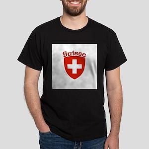 Suisse Coat of Arms Dark T-Shirt