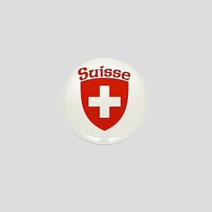 Suisse Coat of Arms Mini Button