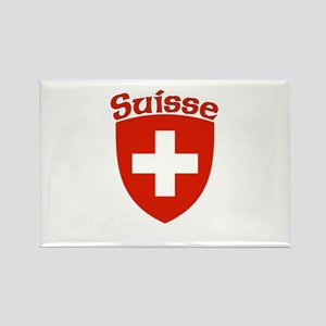 Suisse Coat of Arms Rectangle Magnet