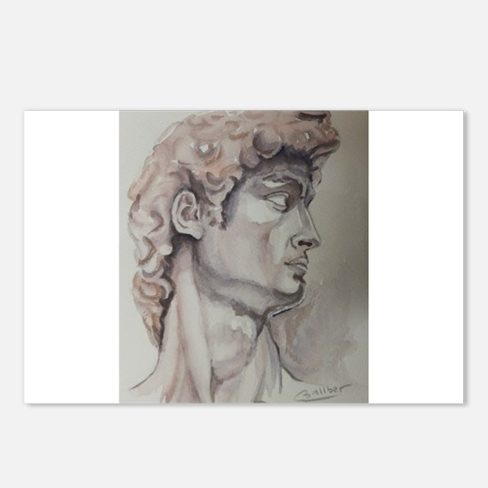 David de Michelangelo Postcards (Package of 8)