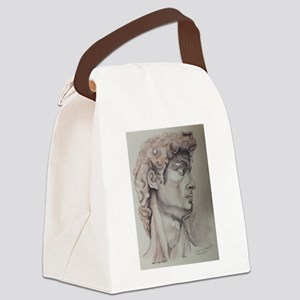 David de Michelangelo Canvas Lunch Bag