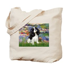Lilies and Tri Cavalier Tote Bag
