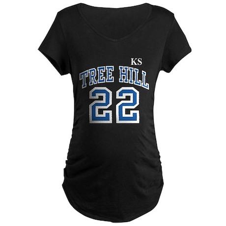 blackravensjersey22ksfront Maternity T-Shirt