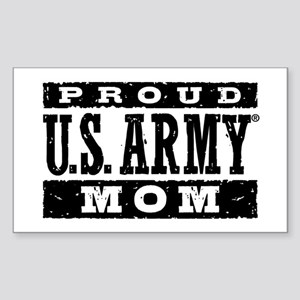 Proud U.S. Army Mom Sticker (Rectangle)