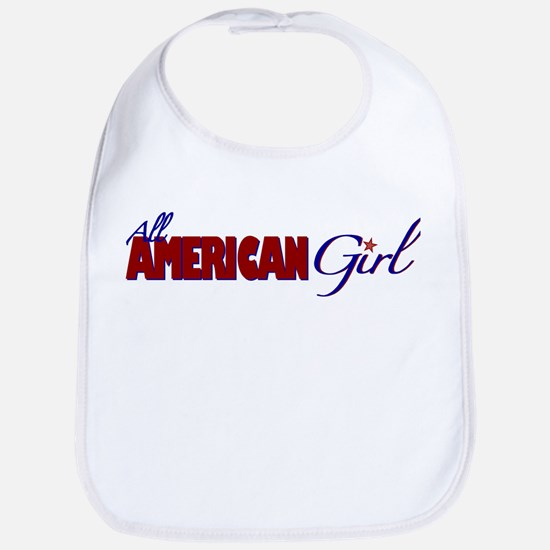 All American Girl Bib