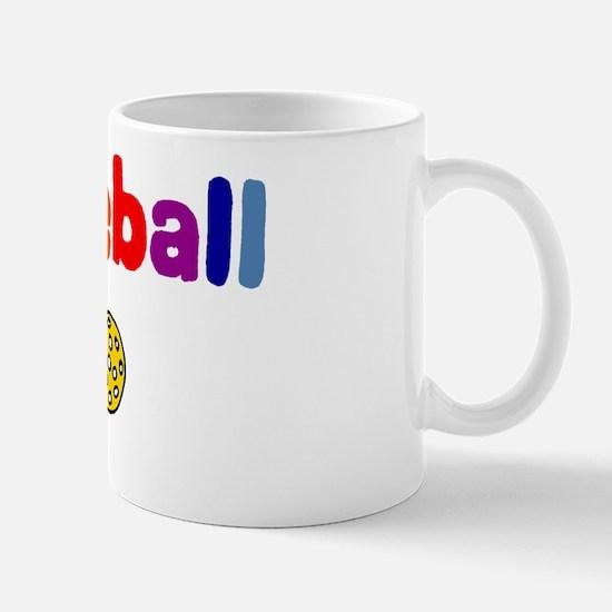 Pickleball Art Mug