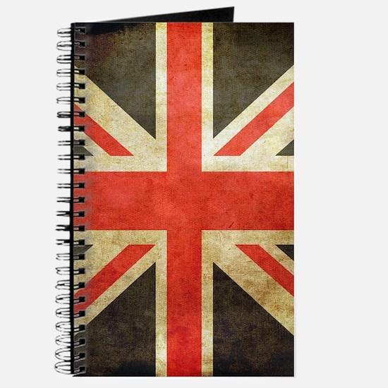 Vintage Union Jack Journal
