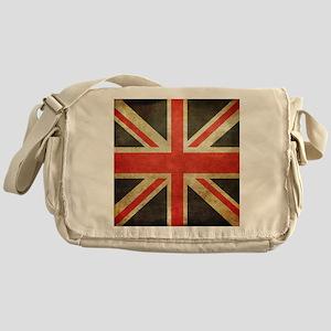 Vintage Union Jack Messenger Bag
