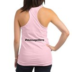 Massage Here Racerback Tank Top