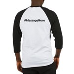Massage Here Baseball Jersey