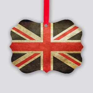 Vintage Union Jack Ornament