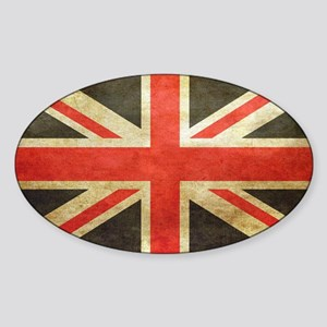 Vintage Union Jack Sticker