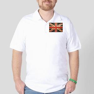 Vintage Union Jack Golf Shirt