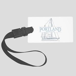 Portland Maine - Large Luggage Tag
