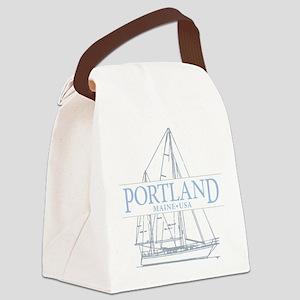 Portland Maine - Canvas Lunch Bag