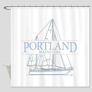Portland Maine Shower Curtain