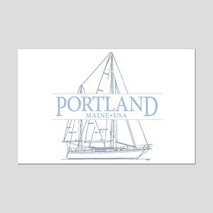 Portland Maine - Mini Poster Print