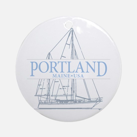 Portland Maine - Ornament (Round)