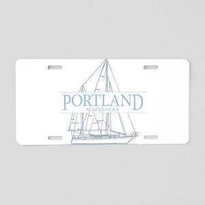 Portland Maine - Aluminum License Plate