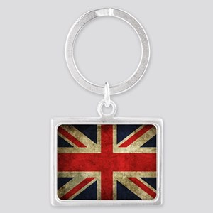 Grunge Uk Flag Keychains