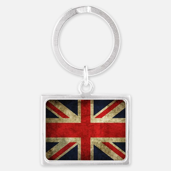 Grunge Uk Flag Keychains