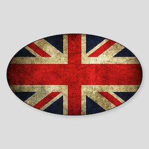 Grunge Uk Flag Sticker