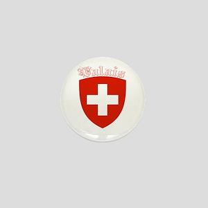 Valais, Switzerland Mini Button