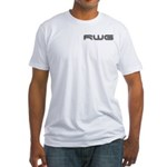 Front And Back Rwg Fitted T-Shirt