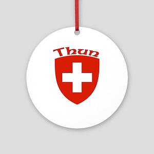Thun, Switzerland Ornament (Round)