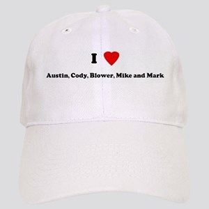 I Love Austin, Cody, Blower, Cap