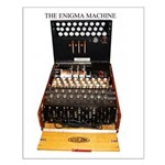the enigma machine Posters