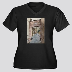 Pedralbes Cathedral Plus Size T-Shirt
