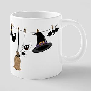 Witch Clothing Mugs