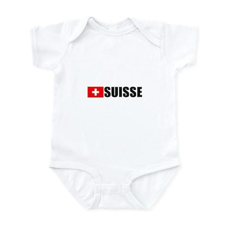 Suisse Flag Infant Bodysuit