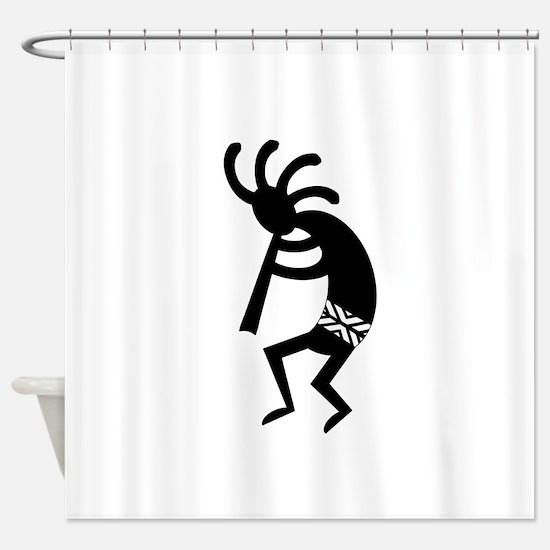 Funny Southwestern Shower Curtain