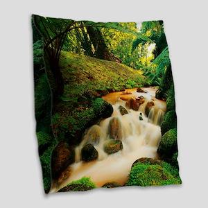 Terra Nostra Park Burlap Throw Pillow