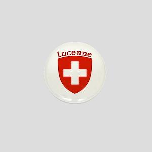 Lucerne, Switzerland Mini Button