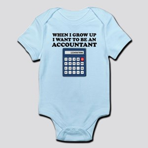 I Want To Be An Accountant Body Suit