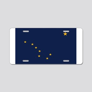 Flag of Alaska Aluminum License Plate