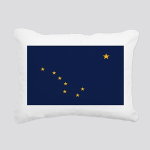Flag of Alaska Rectangular Canvas Pillow